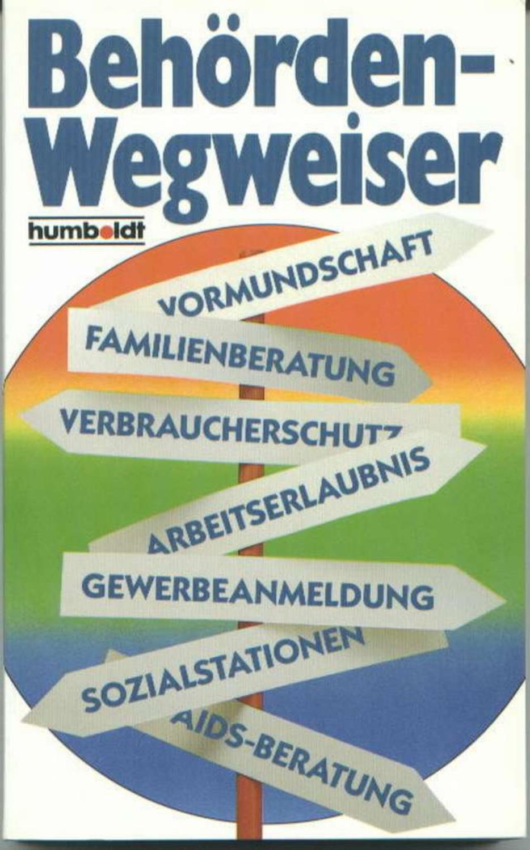 Behördenwegweiser 1988