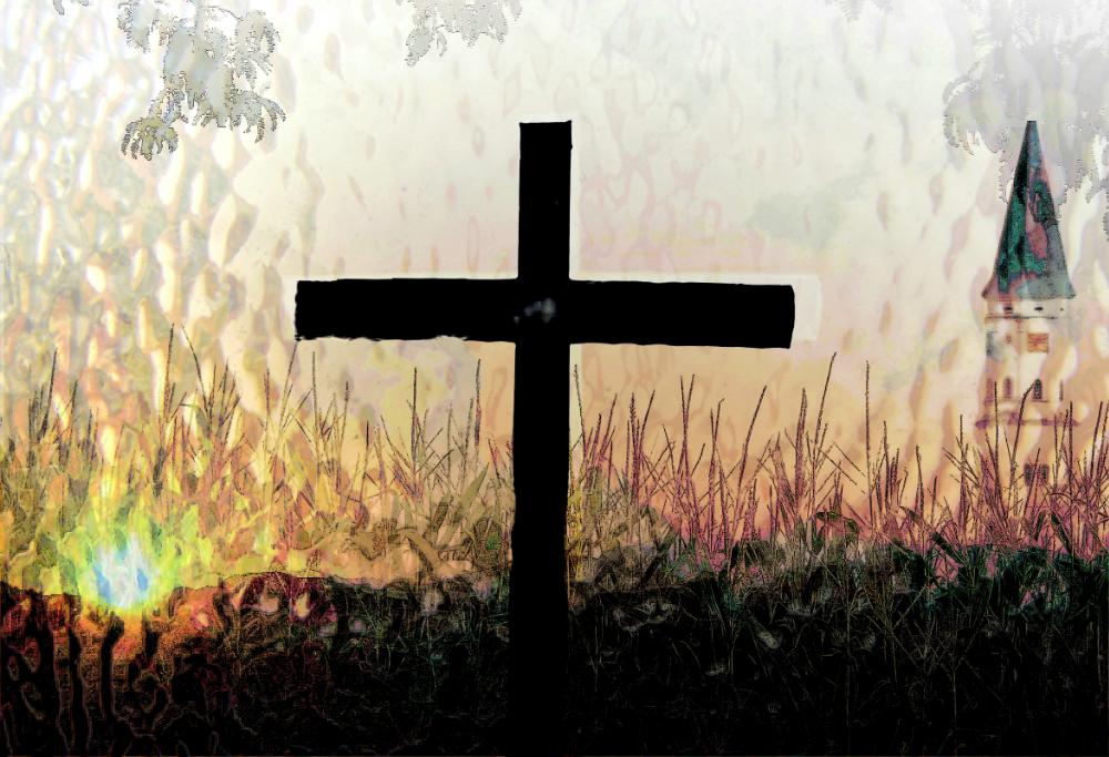 Kirche mit Feld (6)